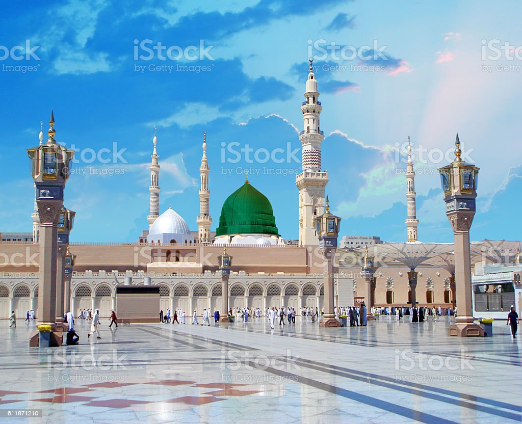 Madinah stock photo