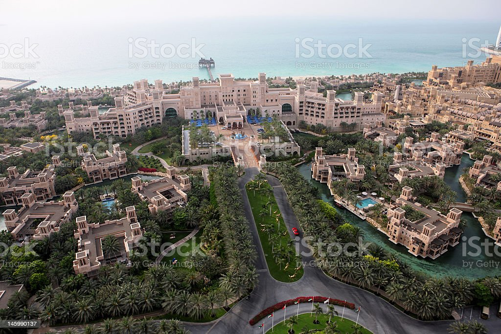 Madinat Al Qasr stock photo