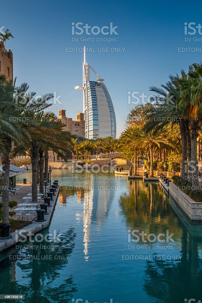 Madinat Souk stock photo