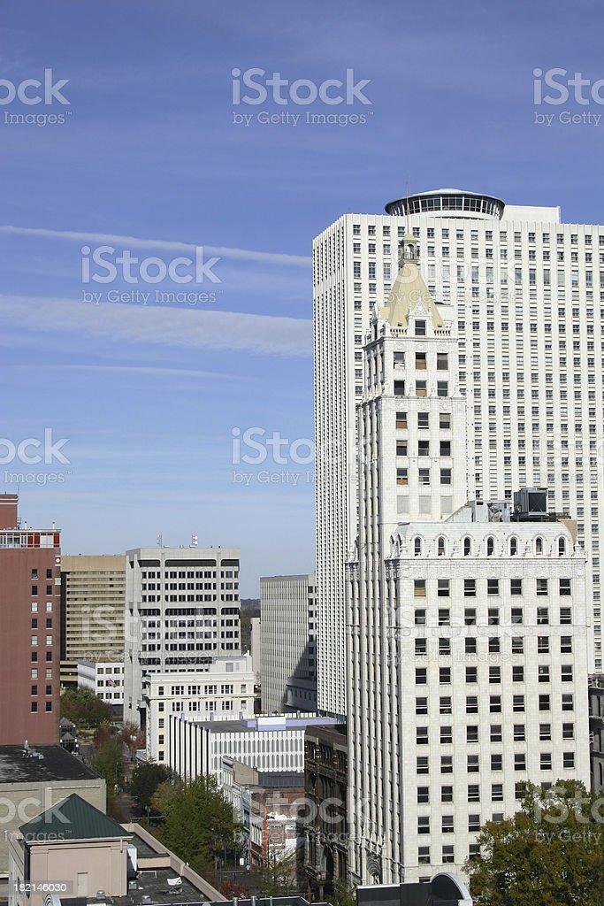 Madison Avenue, Memphis royalty-free stock photo