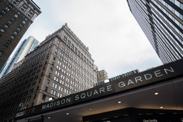 Madison Square Garden in Manhattan in New York City, Verenigde Staten​​​ foto