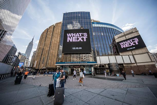 Madison Square Garden, Manhattan, New York City, United States stock photo