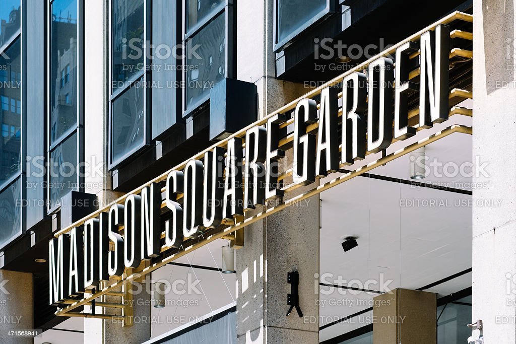 Madison Square Garden stock photo