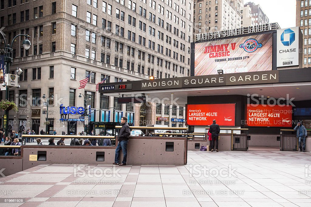 Madison Square Garden Pictures Images and Stock Photos iStock