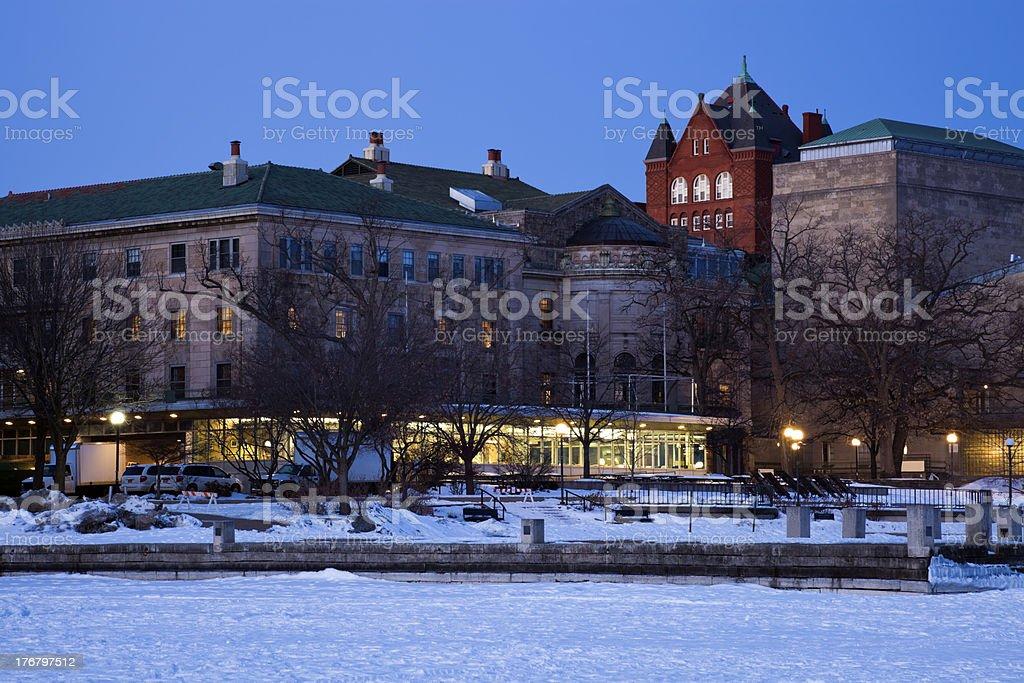 Madison - the University area stock photo