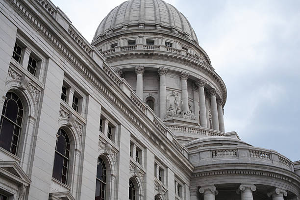 Madison, Wisconsin Capitol Dome stock photo