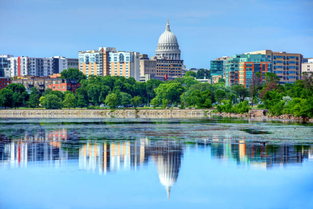 Madison, Wisconsin Madison is the capital of the U.S. state of Wisconsin and the county seat of Dane County. madison wisconsin stock pictures, royalty-free photos & images