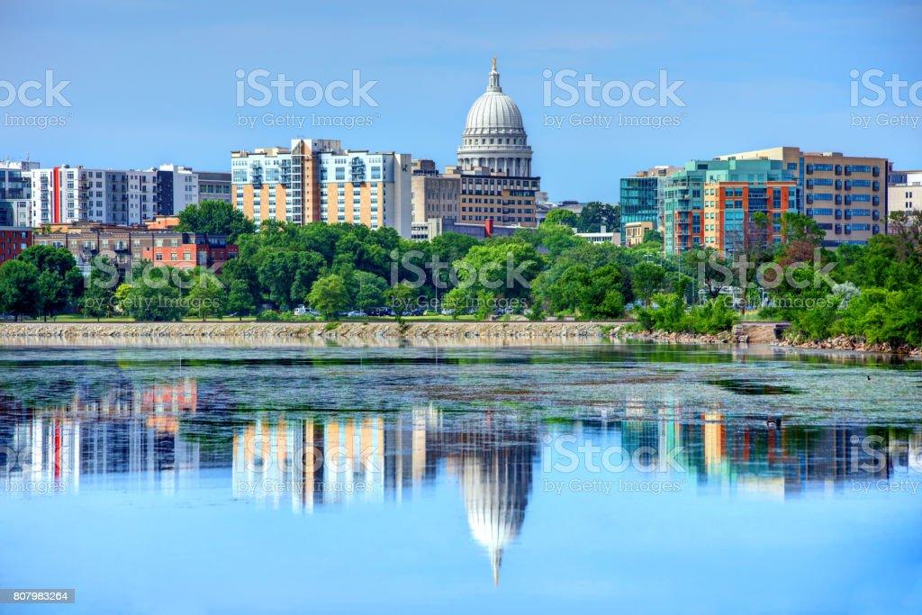 Madison, Wisconsin stock photo