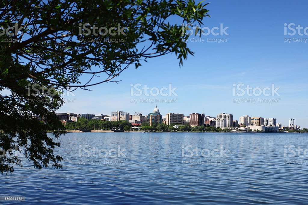 madison wisconsin skyline stock photo more pictures of city istock