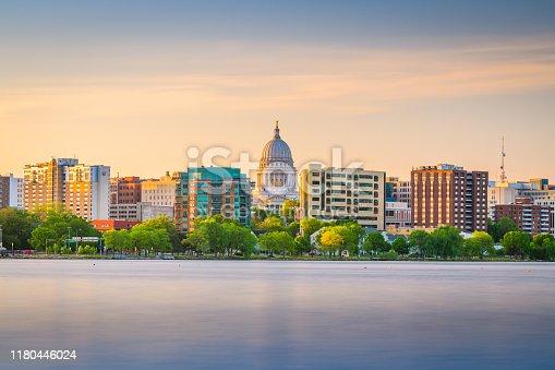 istock Madison, Wisconsin, USA downtown skyline 1180446024