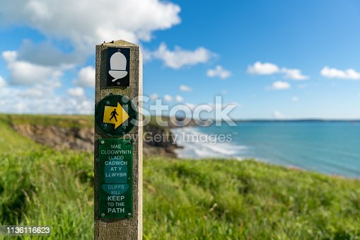 istock Madoc's Haven, near Nolton Haven, Pembrokeshire, Dyfed, Wales, UK 1136116623