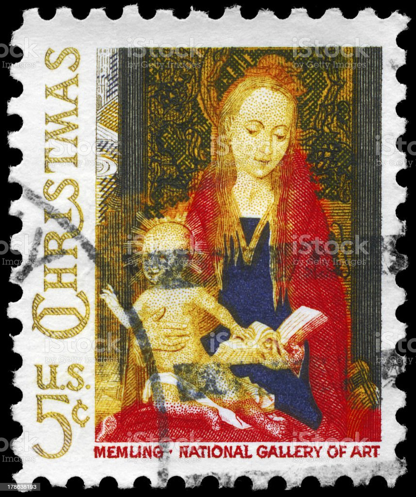 Madonna and Child stock photo