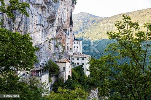 istock Madonna della Corona, Italy 908960434
