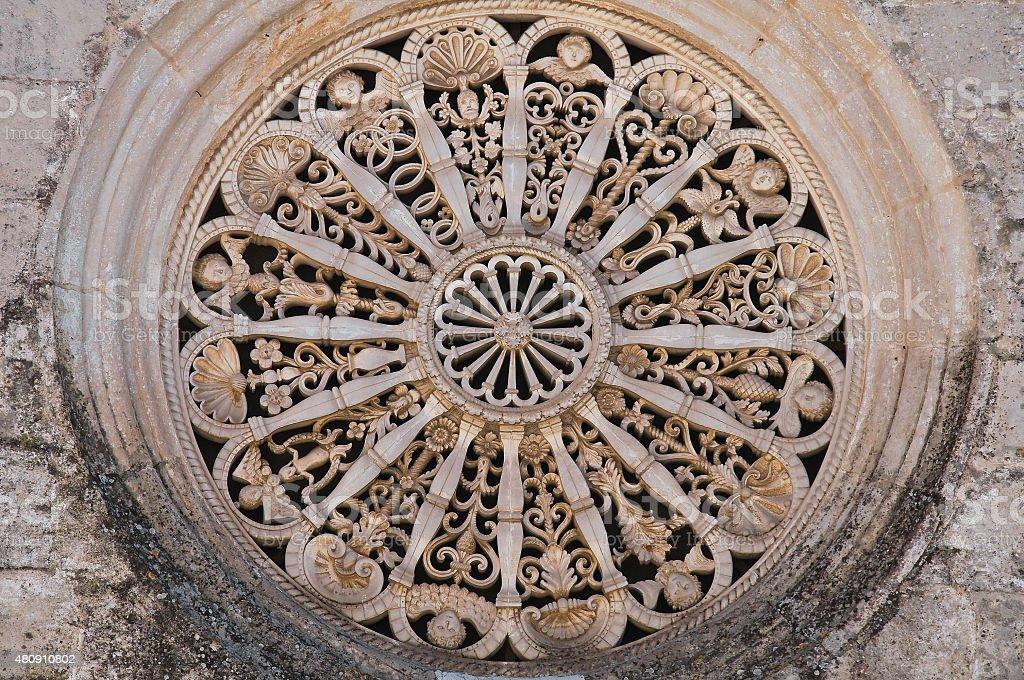Madonna della Greca Church. Locorotondo. Puglia. Italy. stock photo
