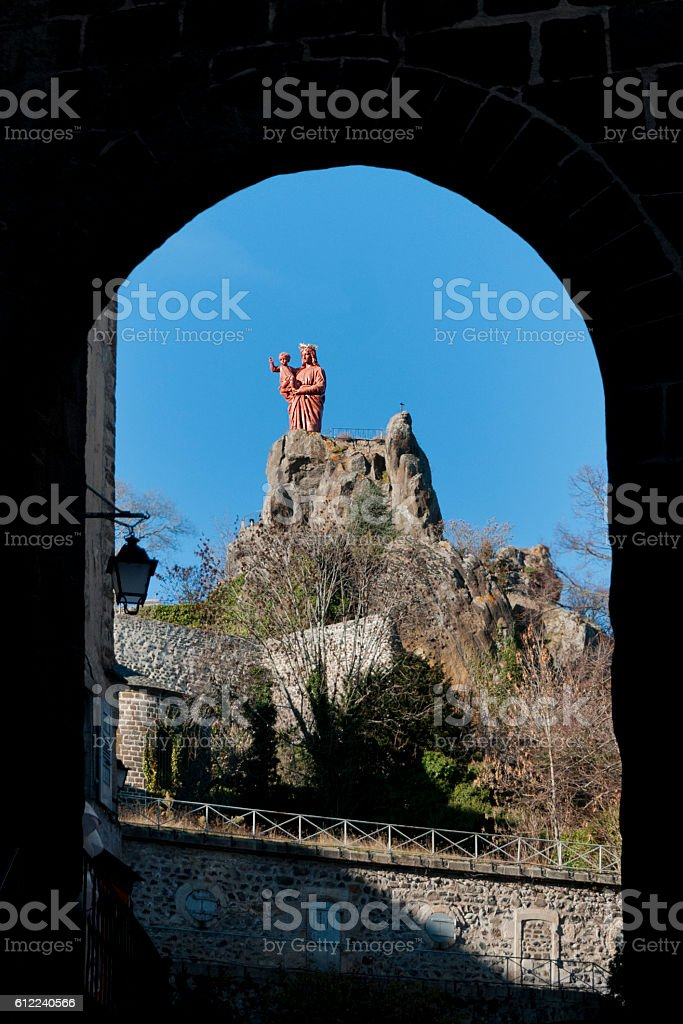 Madonna - Le Puy-en-Velay stock photo