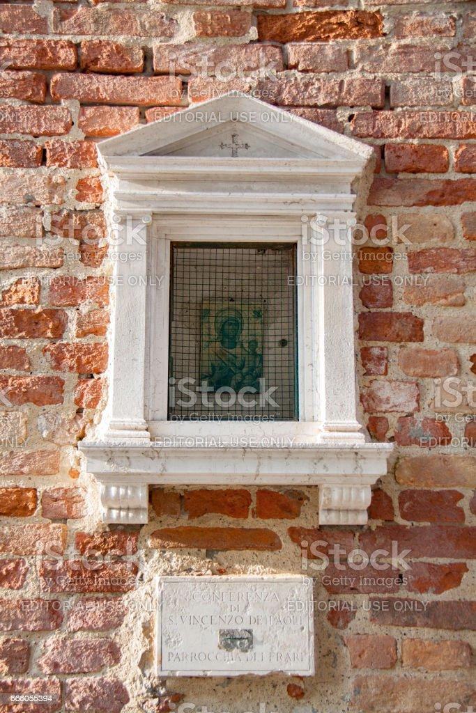 Madonna,  tabernacle стоковое фото