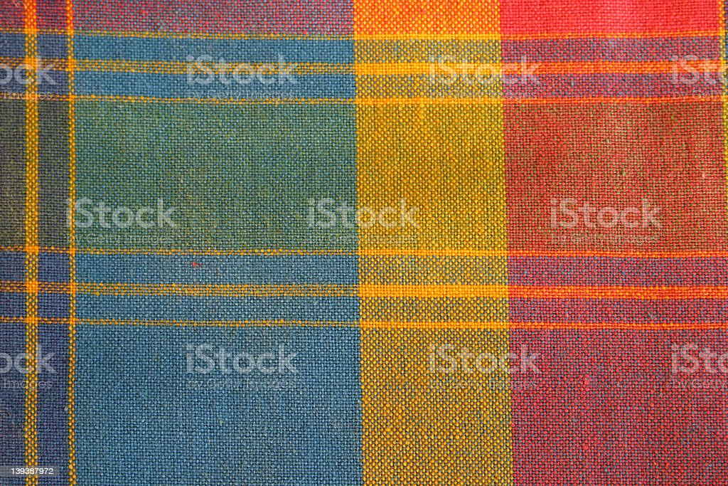 madras cloth stock photo