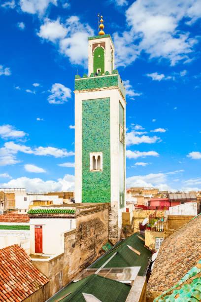 Madrasa Bou Inania stock photo