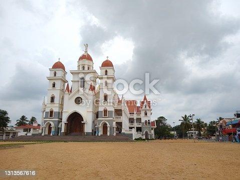 Madre De Deus Church (Vettukadu Church) catholic Church in Thiruvananthapuram Kerala