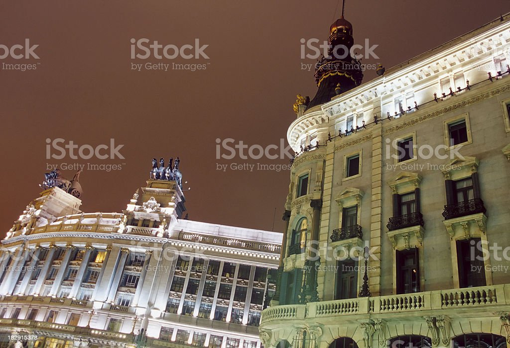 Madrid, Architecture. royalty-free stock photo