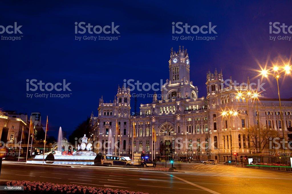 Madrid City Council stock photo