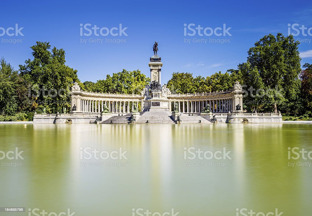 Madrid city, Spain stock photo