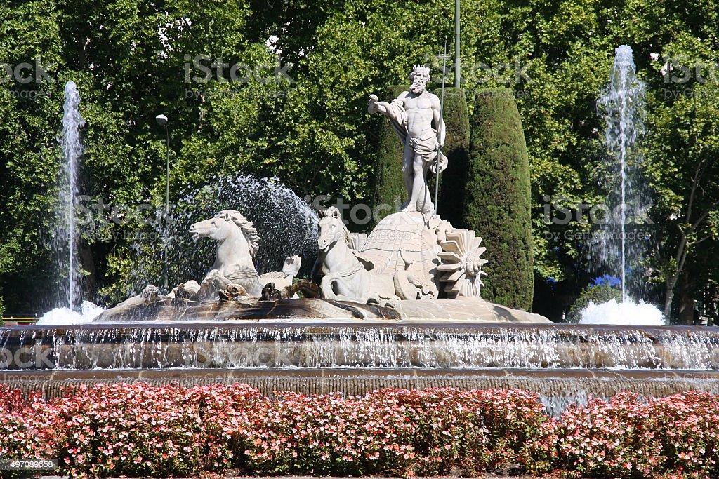 Madrid landmark stock photo