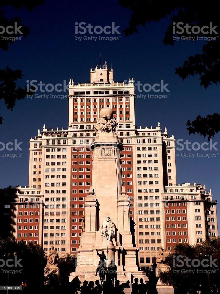 madrid landmark royalty-free stock photo