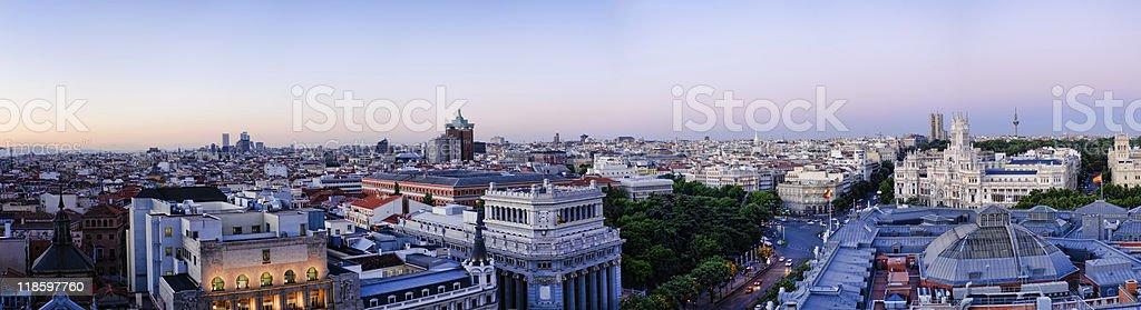 Madrid. - foto stock