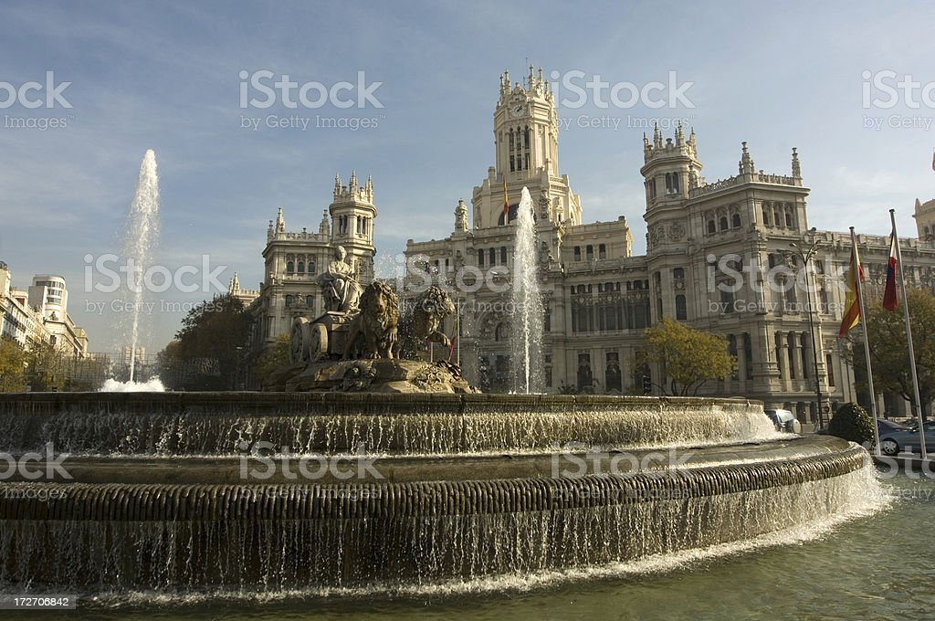 Madrid Plaza Mayor royalty-free stock photo