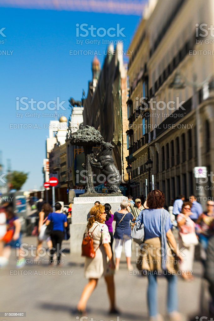Madrid, Puerta del Sol stock photo
