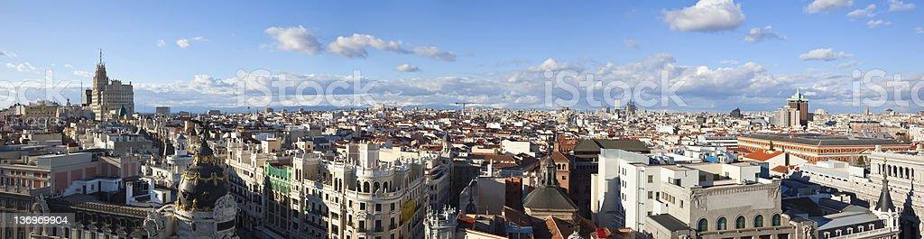 skyline von Madrid – Foto
