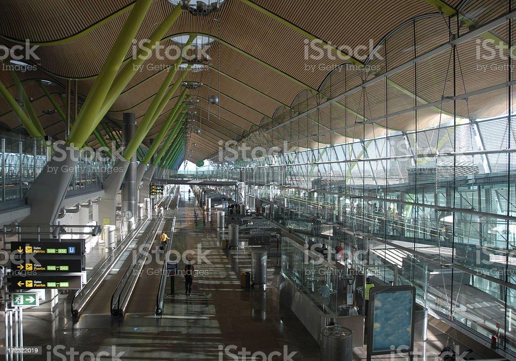 L'aéroport de Madrid, Espagne, - Photo