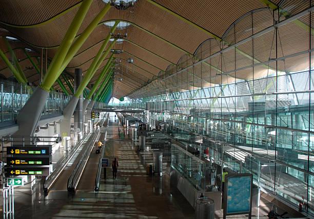 Flughafen Madrid, Spanien, – Foto