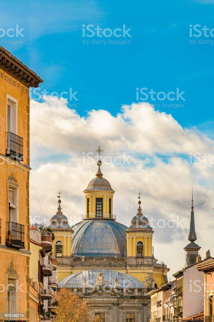 Madrid, Spain, Architecture Background stock photo