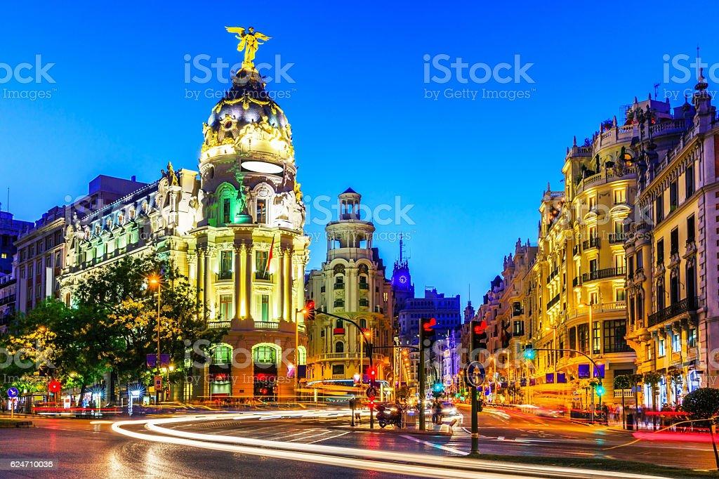 Madrid, Spanien. – Foto