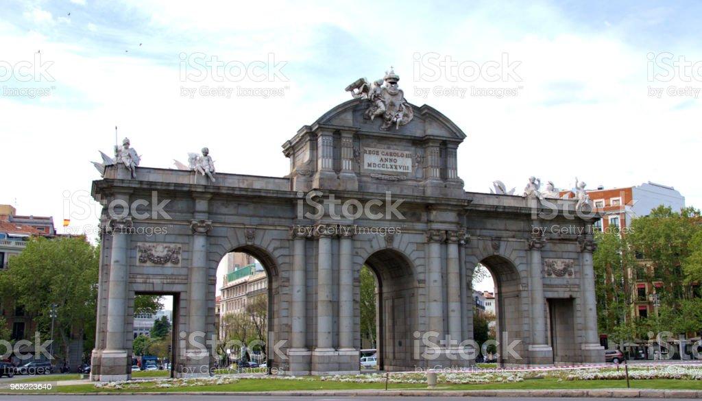 Madrid Spain zbiór zdjęć royalty-free