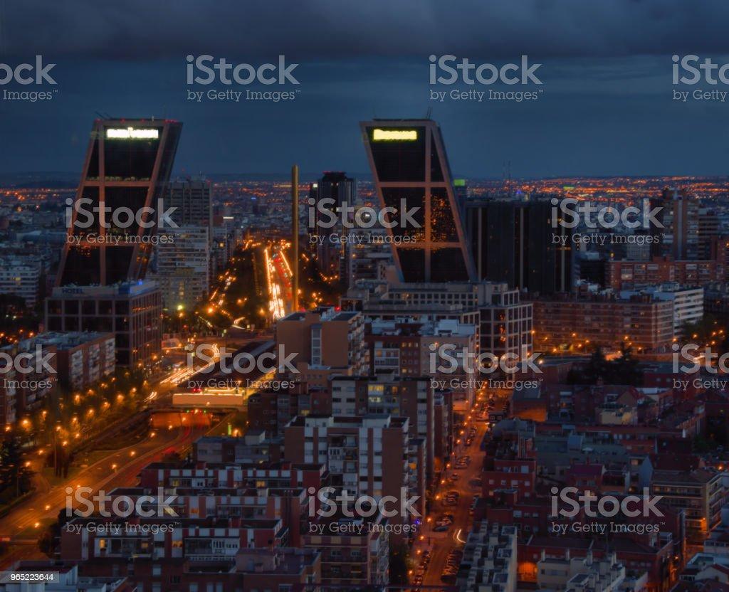 Madrid Spain royalty-free stock photo