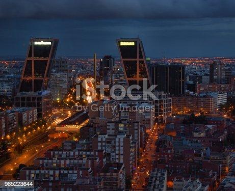 Madrid Spain - zdjęcia stockowe i więcej obrazów Budynek z zewnątrz