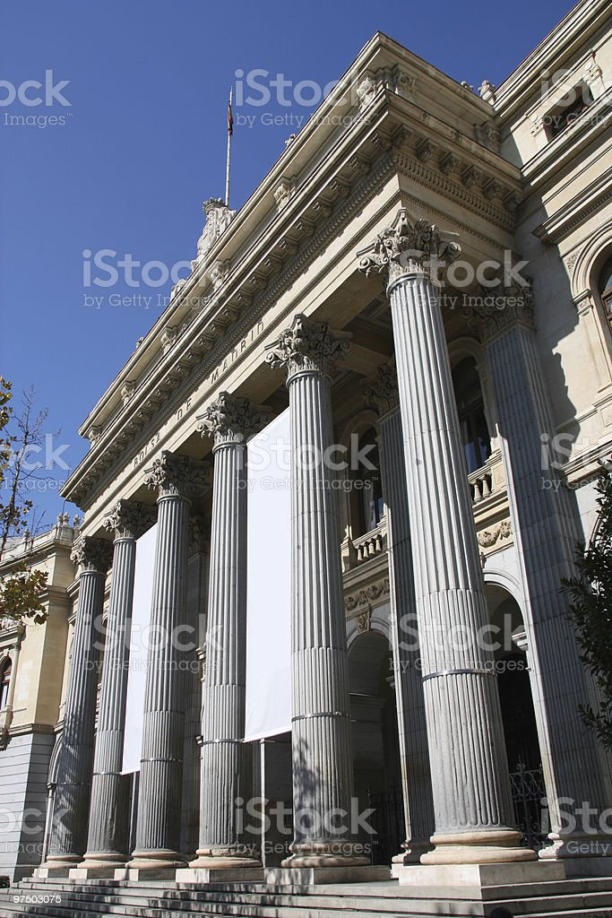Madrid, Spain royalty-free stock photo