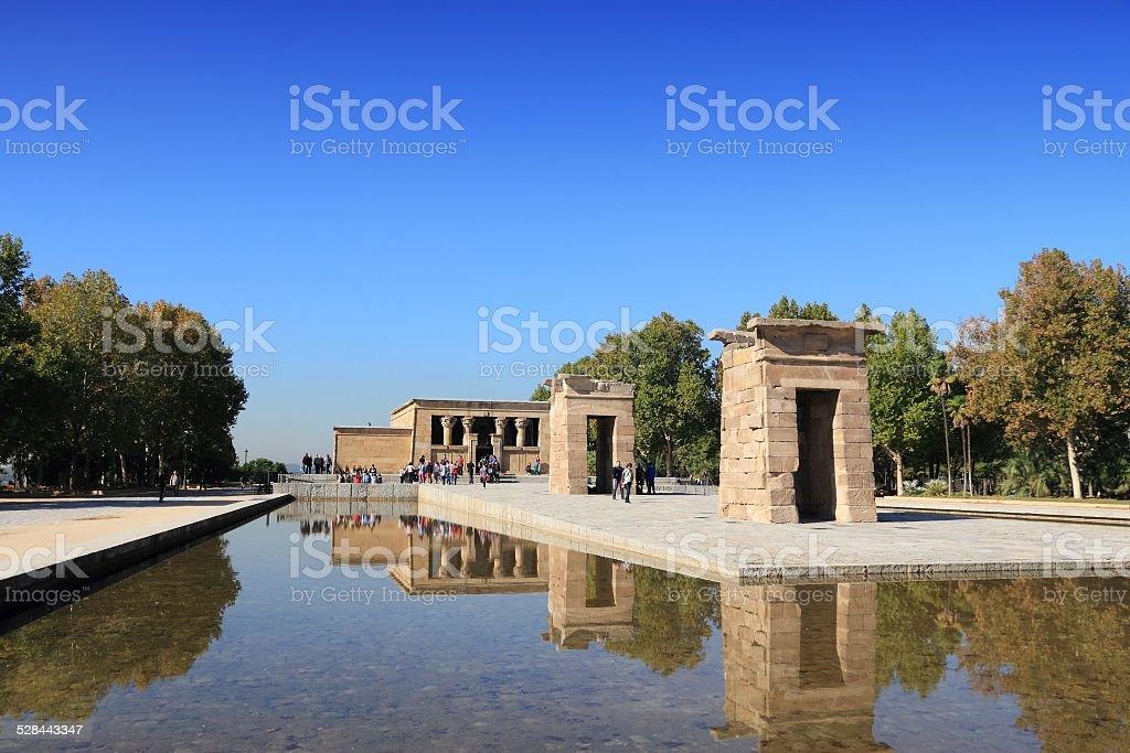 Madrid - Temple of Debod stock photo