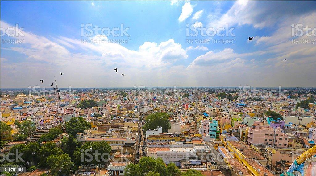 Madurai Meenakshi Amman Temple stock photo