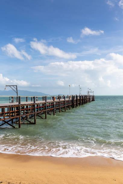 Mae Nam Pier auf Ko Samui Insel, Thailand, Asien – Foto