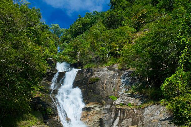 Mae Pan Waterfall stock photo