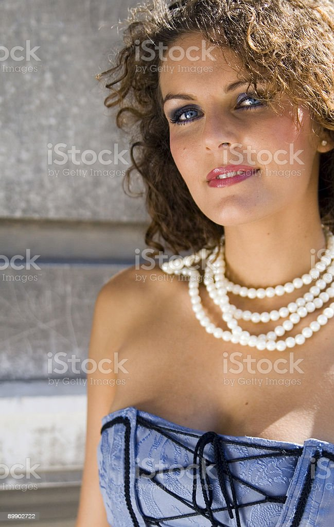Maelys royalty-free stock photo
