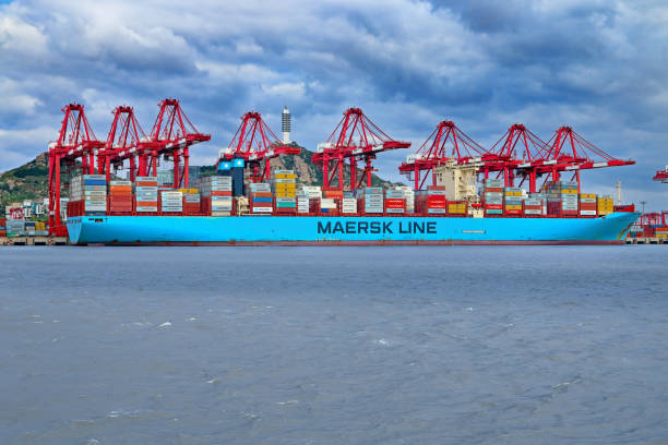 Royalty Free Maersk Container Ship Pictures Images And Stock Photos