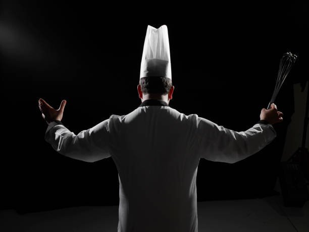 maestro chef stock photo