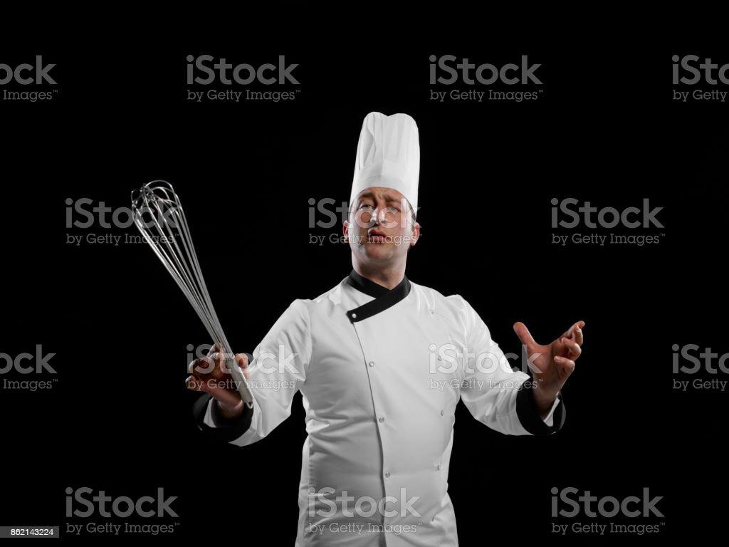 maestro chef stock photo