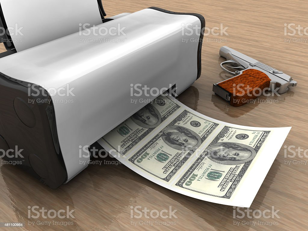Mafia and Monetary Relations stock photo