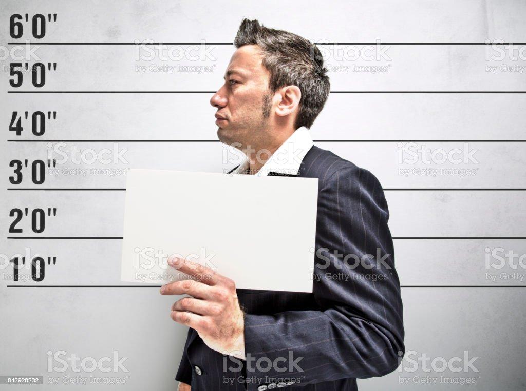 Mafia in Prison stock photo